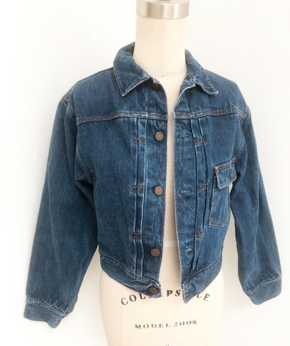 Vintage Ralph Lauren jean jacket, denim jacket, cr