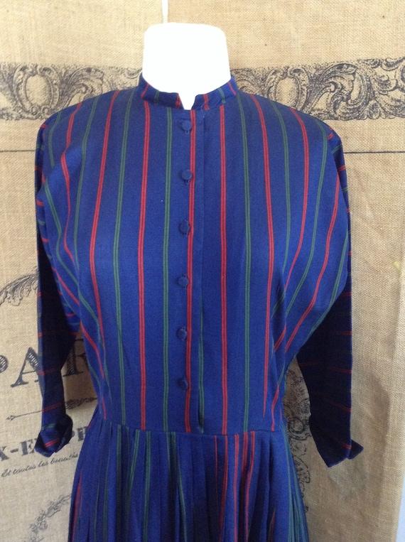 Vintage 1950's shirt dress,  Youth Guild NY,  day
