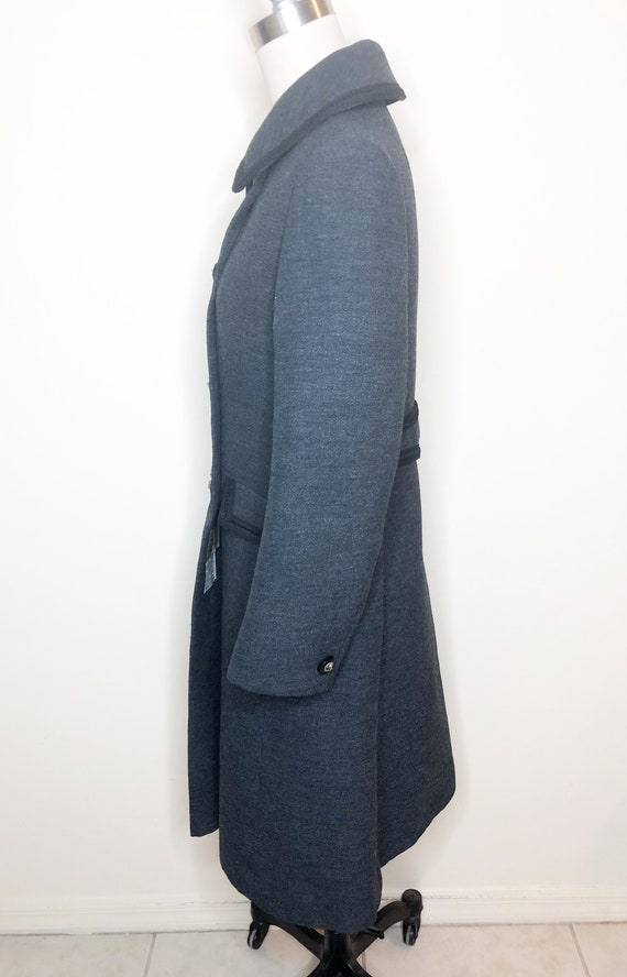 Penn Craft wool coat, princess line coat, double … - image 4