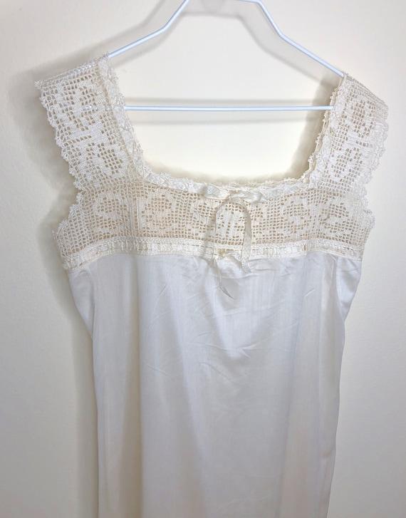 1920's Chemise, camisole, teddy, silk chemise, lac