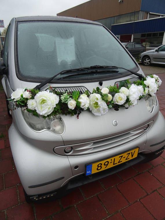 Onwijs Flower Garland Smart auto decoratie bruiloft | Etsy FW-54