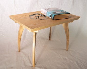 Curved Leg Ash Reclaimed Coffee Table