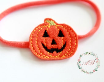 halloween headband baby pumpkin headband girls pumpkin headband girls halloween headband halloween pumpkin headband