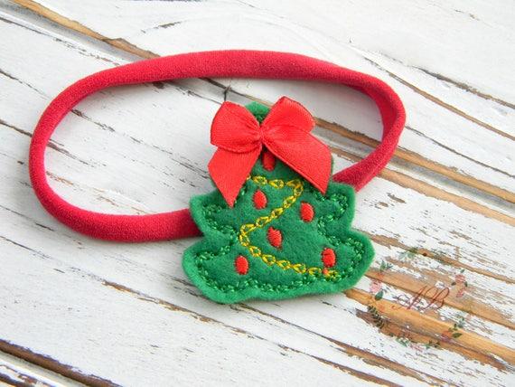 Baby Christmas Headband Christmas Tree Headband Christmas  ae3fb954dae