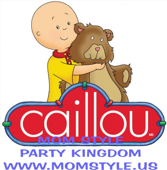 CAILLOU IRON ON TRANSFER #2