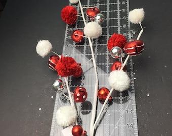 Snowmen Pick Wreath Picks Picks For Wreaths Christmas Florals 3661 BB Snowman Christmas Floral Pick Glitter Picks