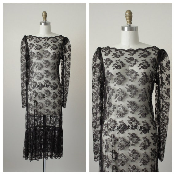 1930s Andalucia Lace Dress