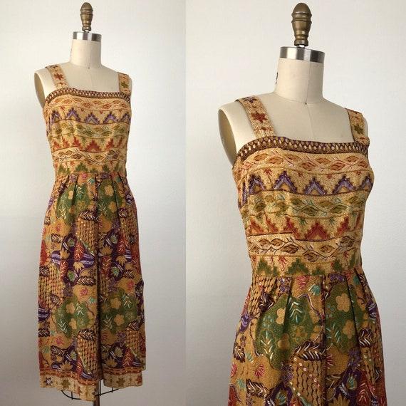 1950s Waikiki Summer Dress