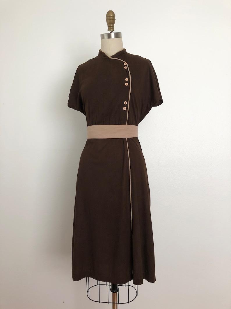 Vintage oriental dress 1970s Mrs Wong  Dress