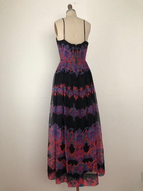 1960s Pauline Trigere Maxi Dress - image 10