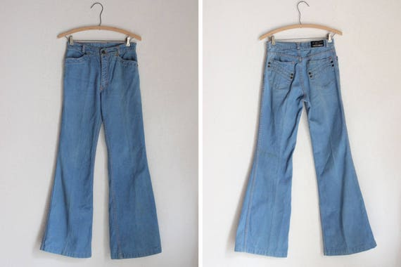 1970s Shadows London Bell-Bottoms Jeans