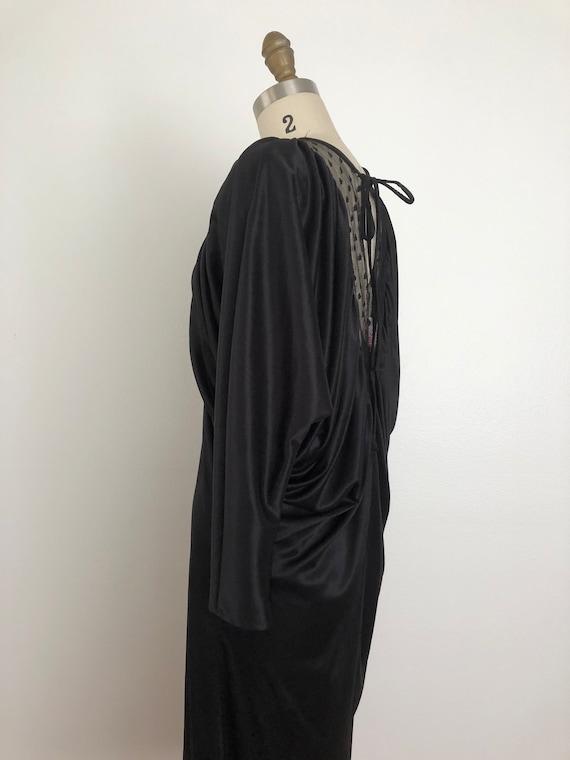 Vintage Pantera Black Dress | Vintage Disco Dress - image 5
