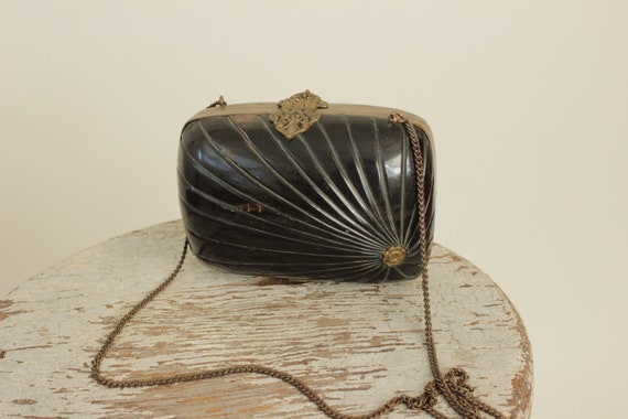 Art-Deco Concha Purse / 1930s Purse