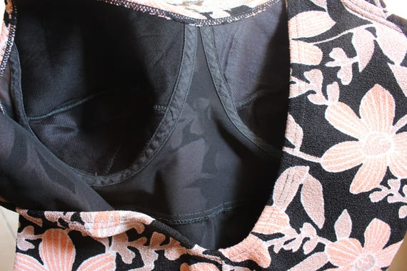 1960s Sophia Floral Swimsuit - image 2