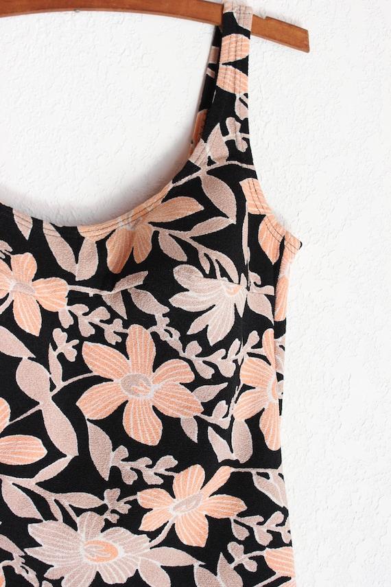 1960s Sophia Floral Swimsuit - image 5