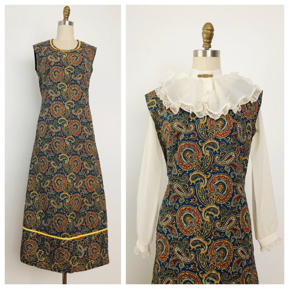 Vintage La India Quilted Dress