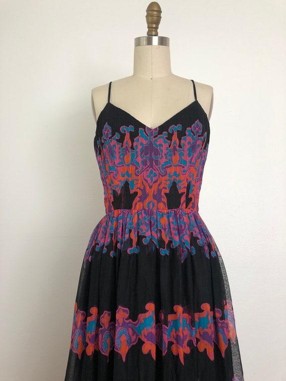 1960s Pauline Trigere Maxi Dress - image 6