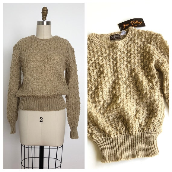 1970s Olive Pullover Sweater