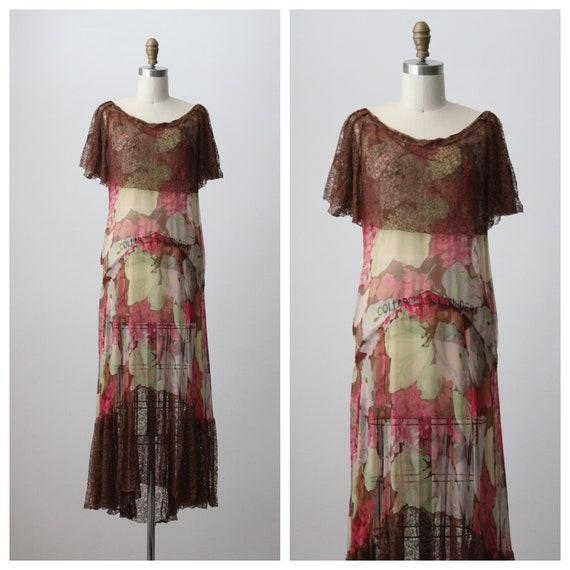 1930s Mariela Floral Garden Dress