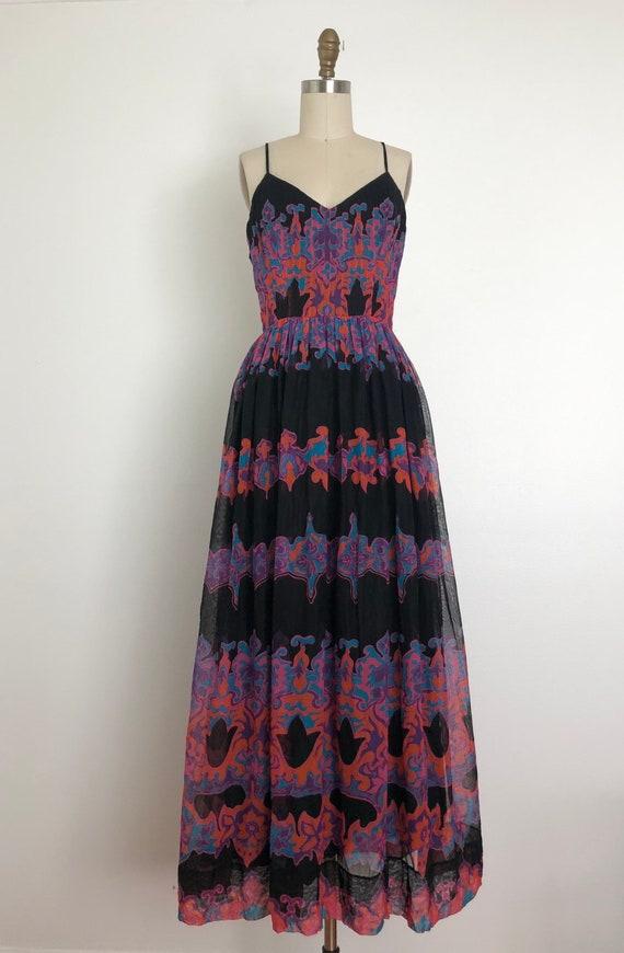 1960s Pauline Trigere Maxi Dress - image 7