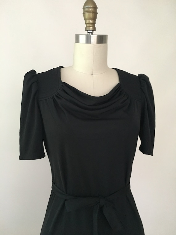 Vintage Marie Claire Black Dress - image 2