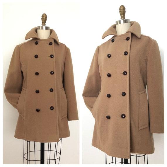 Vintage Mackintosh Peacoat / Wool Coat