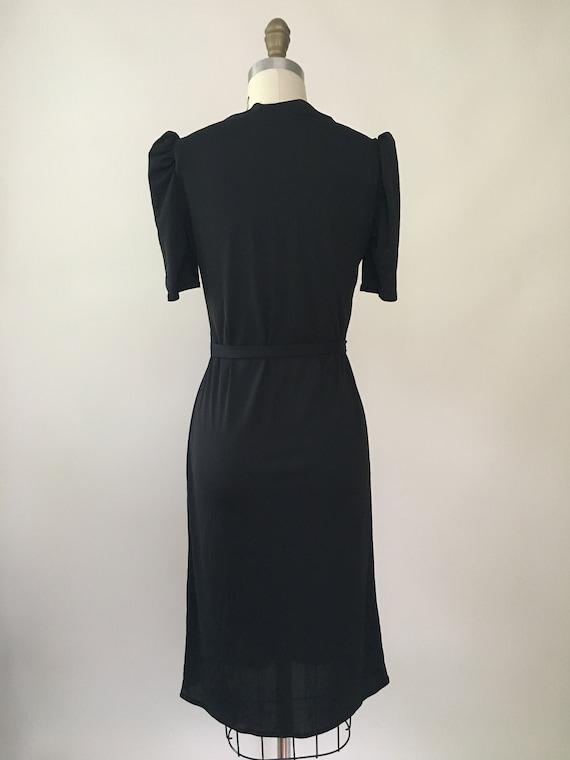 Vintage Marie Claire Black Dress - image 5
