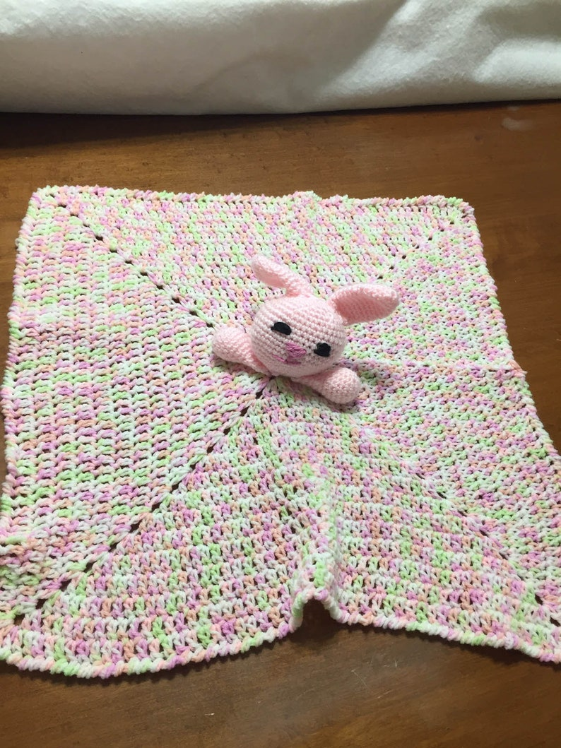 Pink Bunny Lovey image 0