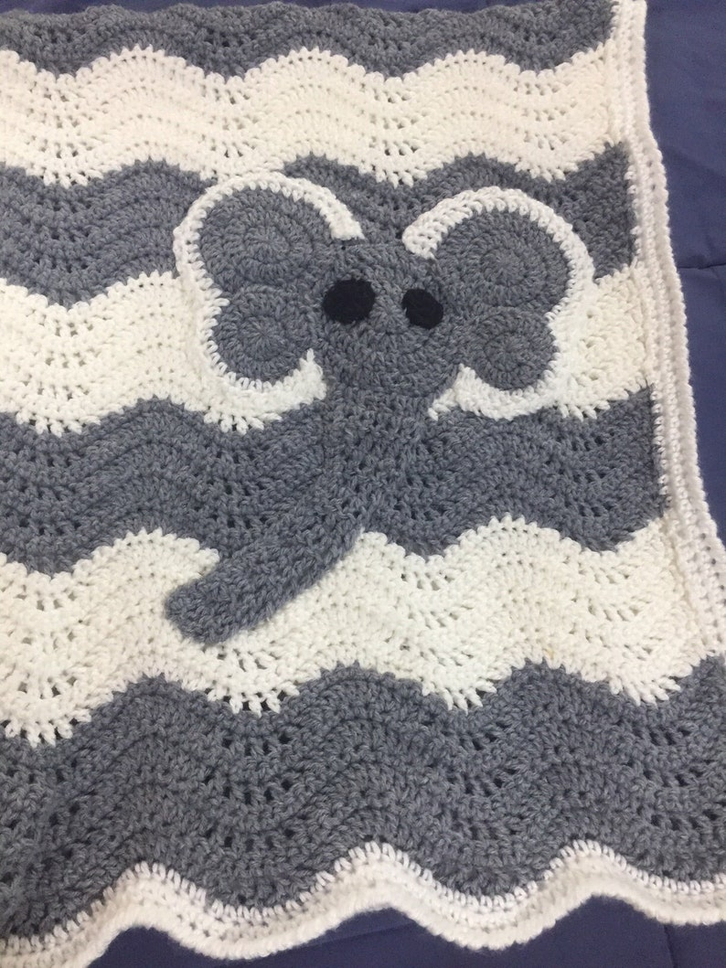 Elephant Baby Blanket image 0
