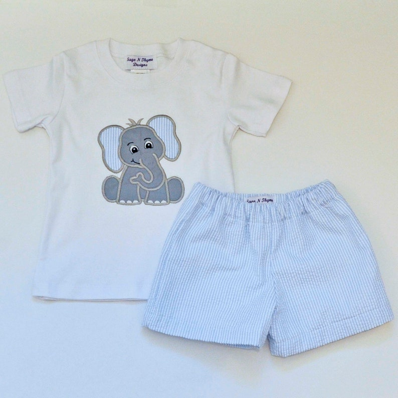 Toddler Baby Boy Girls Outfits Clothes Smile Face T-shirt+Straps Shorts 9M-3T