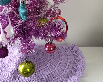 just the right size small tree skirts