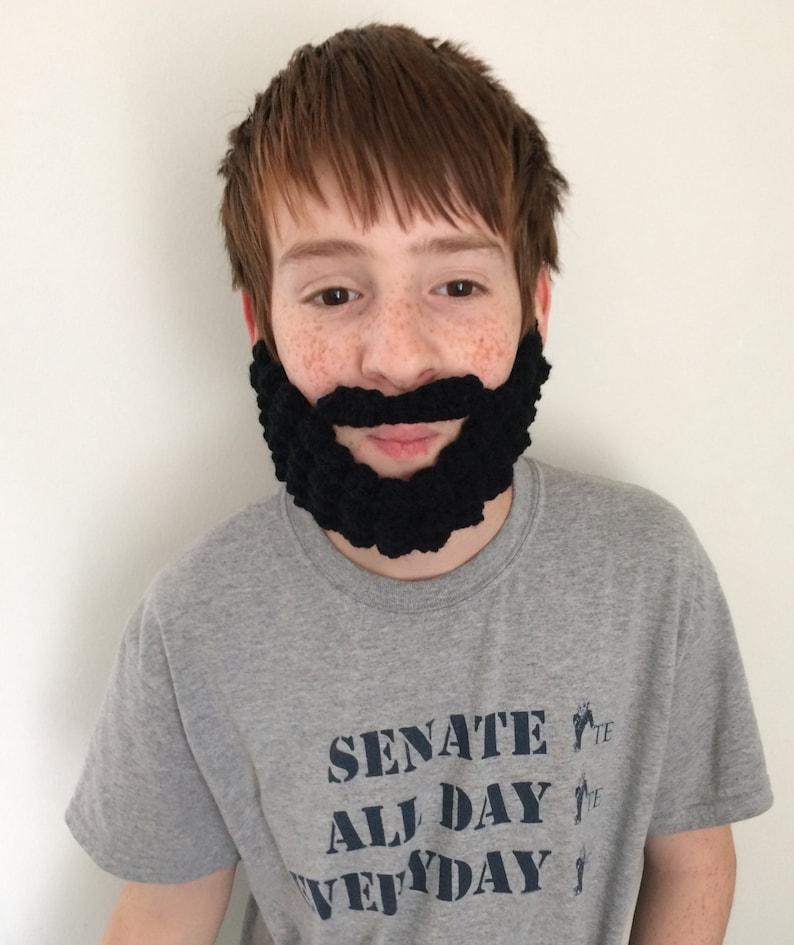 Crocheted Beard