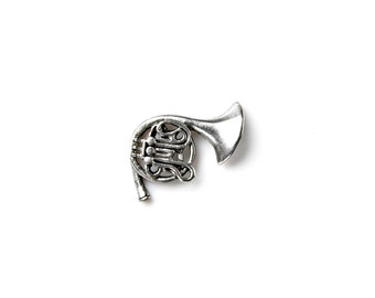 French Horn Lapel Pin