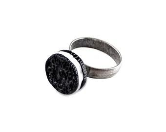 Cookie Adjustable Statement Ring