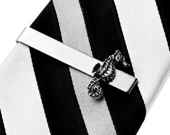 Seahorse Tie Clip