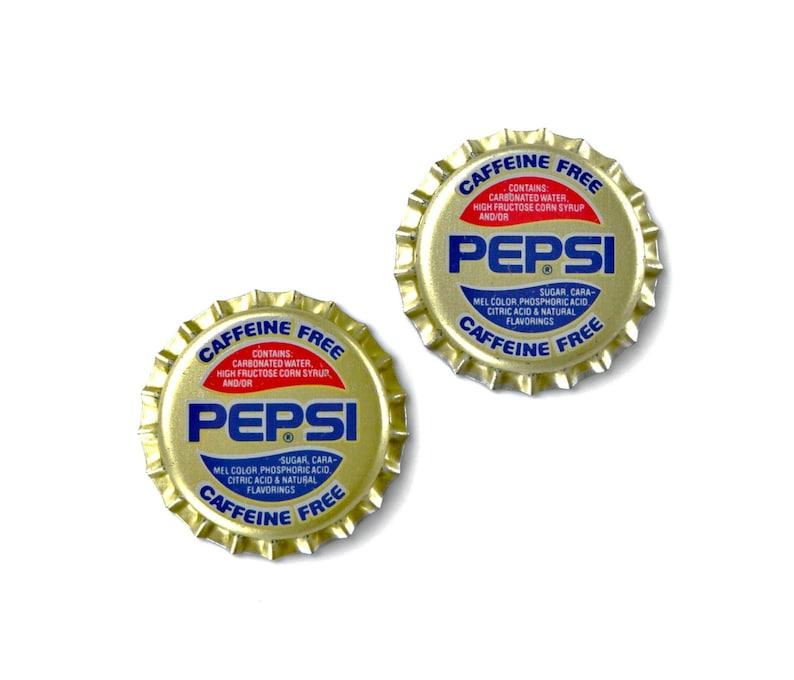 Pepsi Bottle Cap Cufflinks