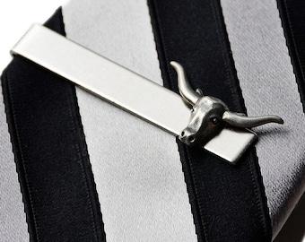 Longhorn Tie Clip