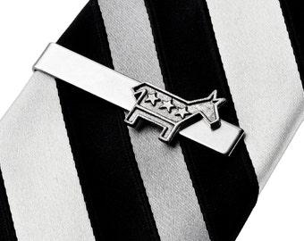 Democrat Tie Clip