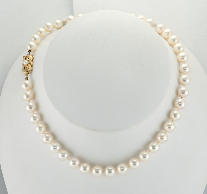 ade039b0b62b Mikimoto Pearls Akoya Pearl Necklace Cultured Pearl