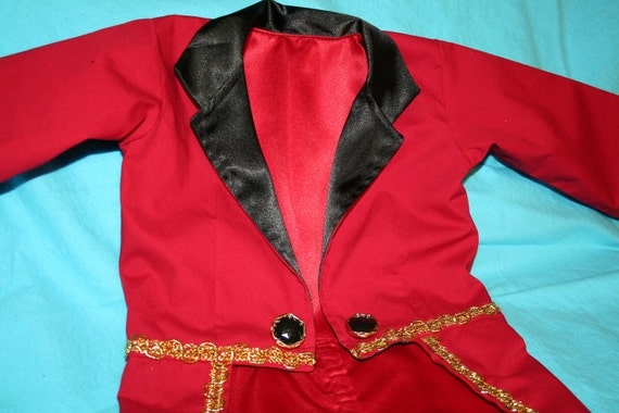 Photo Prop Band Leader Tuxedo Jacket with Tails Birthday Uncle Sam Fully Lined in Satin Ringmaster Circus Wedding