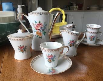 Vintage espresso set (Bavaria)