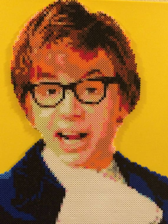 Austin Powers Mike Myers Bead Portrait Austin Powers Etsy