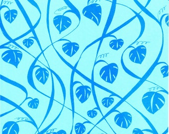 Artist Paper 18 x24 - 3 Sheets Vines Design for Bookbinding Paper Arts and Packaging