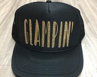 Glampin Trucker Hat Mesh Camping Desert Women's Ocotillo Glamis Dunes
