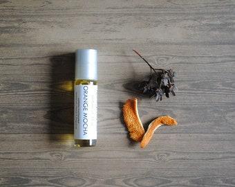 Orange Mocha Perfume Oil, Roll On Perfume Creamsicle Chocolate Espresso Fragrance