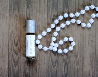 Gardenia Pearl Perfume Oil, Roll On Perfume Floral Rich Sultry Fragrance Unisex