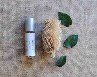 Salted Cucumber Perfume Oil, Roll On Perfume, Fresh, Tonic, Fragrance, Vegan, Spa Day Perfume