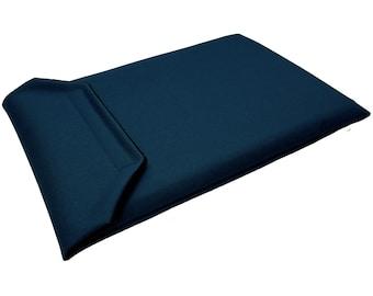 iPad Pro 12.9-inch Sleeve Case - Fits 3rd Gen, 4th Gen and 5th Gen (2018-2021) - Navy Blue Canvas