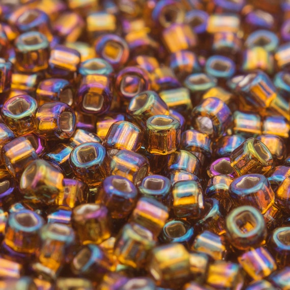 20 Grams Blue Glass Seed Beads 2mm Bugle Seed Beads