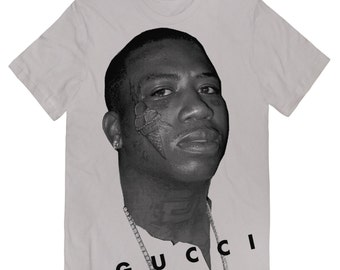 7acc3a71 GUCCI MANE T-Shirt with Huge Print LIMITED as in these are the last of these